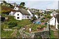 SW7214 : Pretty village scene at Cadgwith, Cornwall by Derek Voller