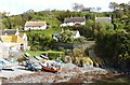 SW7214 : The fishermen's harbour at Cadgwith Cove, Cornwall by Derek Voller