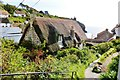 SW7214 : Entering the quintessential Cornish fishing village of Cadgwith by Derek Voller