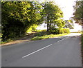 SO3416 : Side road junction, Llanddewi Skirrid by Jaggery