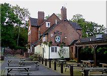 SJ9214 : The Boat Inn at Penkridge in Staffordshire by Roger  Kidd