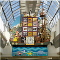 NH6645 : Noah's Ark automaton clock in Eastgate Centre, Inverness by Julian Paren