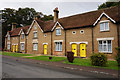 TL1645 : Almshouses on Biggleswade Road, Upper Caldecote by Ian S