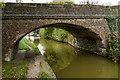 SJ8057 : Bridge 141 Trent & Mersey Canal, Thurlwood by Brian Deegan