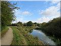 SK4841 : Nottingham Canal junction by John Sutton