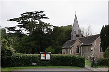 TQ1328 : St.Nicolas, Itchingfield by Peter Trimming