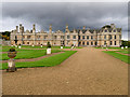 SP9292 : Garden and West Front, Kirby Hall by David Dixon