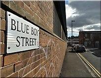 SK3487 : Blue Boy Street, Sheffield by Neil Theasby