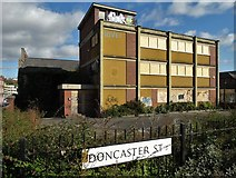 SK3487 : Disused industrial premises - Doncaster St, Sheffield 3 by Neil Theasby