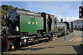 SH5738 : The Welsh Highland Railway at Porthmadog by Jeff Buck