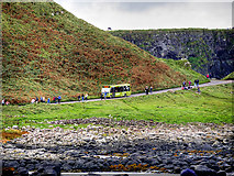 C9444 : Giant's Causeway, Shuttle Bus from the National Trust Visitor Centre by David Dixon