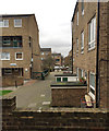TQ3376 : Footpath through the Lettsom Estate, Camberwell, south London by Robin Stott