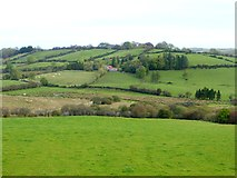 N7097 : Pattern of fields at Corkish by Oliver Dixon