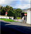 ST0091 : No Entry signs facing Vicarage Road, Penygraig by Jaggery