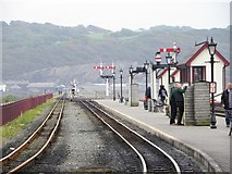 SH5738 : Harbour Station, Porthmadog by Gordon Hatton