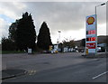 SS9991 : October 17th 2017 Shell fuel prices, Tylacelyn Road, Penygraig by Jaggery