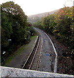 SS9992 : Southeast end of Tonypandy railway station by Jaggery