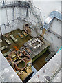 SU4702 : Detail of former power station, Fawley (3) : Week 42