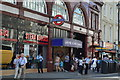 TQ3080 : Leicester Square Underground Station by N Chadwick
