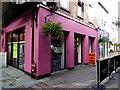 H4572 : Halloween Pop-up shop, Main Street, Omagh by Kenneth  Allen