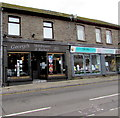 SS9992 : George's Hairdressers & Barbers in Tonypandy by Jaggery