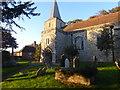 TQ9245 : St Nicholas' Church, Pluckley by Marathon