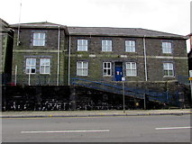 SS9992 : Former Tonypandy Police Station by Jaggery