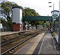 ST1380 : Radyr railway station footbridge, Cardiff by Jaggery