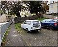 SS9991 : Gutter For You van, Swan Terrace, Penygraig by Jaggery