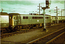 TQ2282 : Class 86, number 86224 at Willesden Junction depot by Rob Purvis