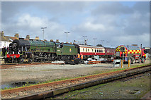 TQ0202 : 46100 'Royal Scot' takes water at Littlehampton by Robin Webster