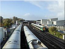 TQ0202 : Train arriving at Littlehampton by Robin Webster