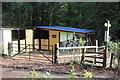 ST2588 : Bluebell Stables next to Coed Pwll -neidr by M J Roscoe