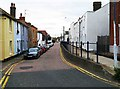 TR1066 : Island Wall, Whitstable, Kent by P L Chadwick