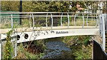 J3673 : The Hutchinson Bridge, Belfast (October 2017) by Albert Bridge