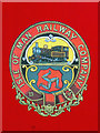 SC1968 : Isle of Man Railway Company crest by Robin Drayton