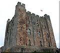 NU1835 : Bamburgh Castle: the keep by Bill Harrison