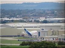SJ3464 : Airbus factory and Beluga #3 by John S Turner
