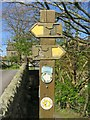 SD8240 : Signpost in Barley by Steve Daniels