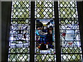 TG0805 : North window featuring St. Cecilia by Adrian S Pye