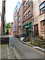 SJ8498 : Back Turner Street by Gerald England