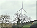 J4365 : Wind turbine, Ballyrush, Ballygowan/Comber (October 2017) by Albert Bridge