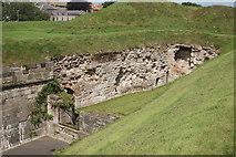 NT9953 : Flanker (Cumberland bastion) by Bill Harrison