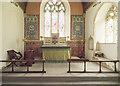TL9450 : St Mary, Preston St Mary - Sanctuary by John Salmon