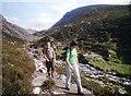 NH9503 : Walking the Lairig Ghru path by Alan Reid