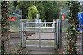 ST2291 : Level crossing, Medart Street by M J Roscoe