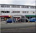 SJ3350 : King Street taxi rank shelter, Wrexham by Jaggery