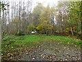NJ6202 : Footpath entry, Torphins Wood by Stanley Howe