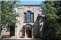NU0053 : Holy Trinity (Berwick) west door by Bill Harrison