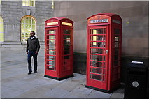 SJ8397 : K6 phone boxes by Bob Harvey
